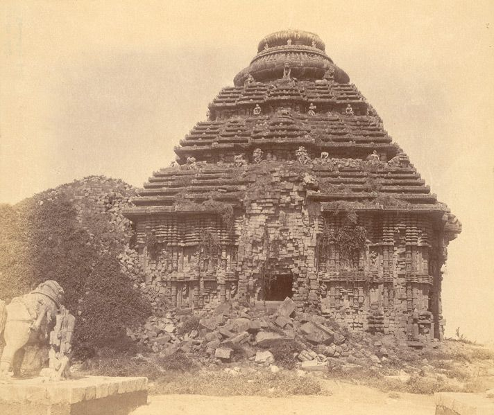 Konark Temple Old Photo